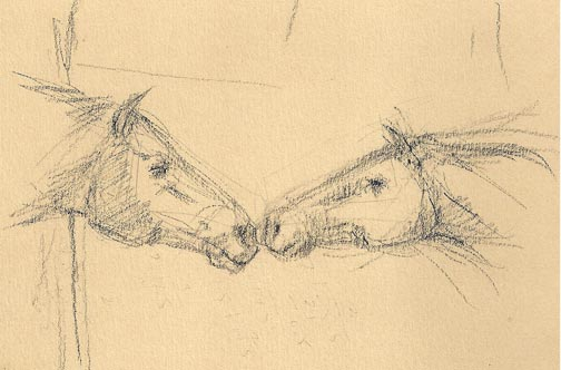 two-horse-heads
