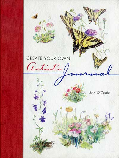 Create your own artist's journal by Erin O'Toole