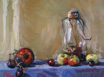 Erin O'Toole oil paintings.