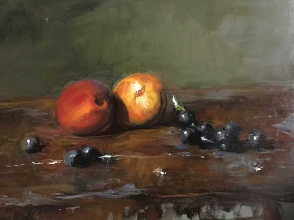 Erin O'Toole oil painting