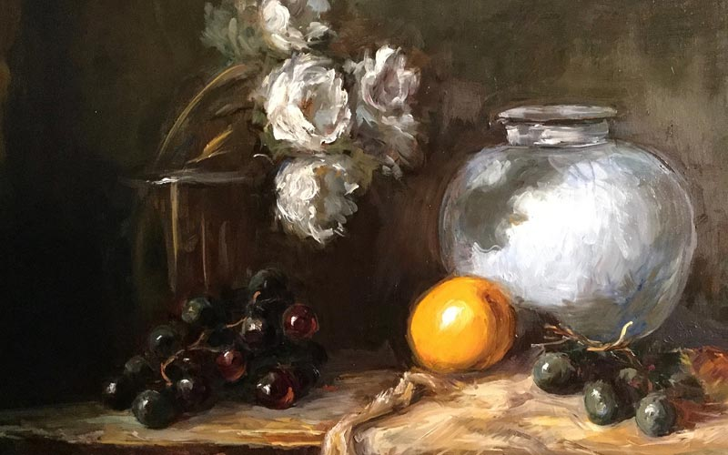 Still life painting by Erin O'Toole.
