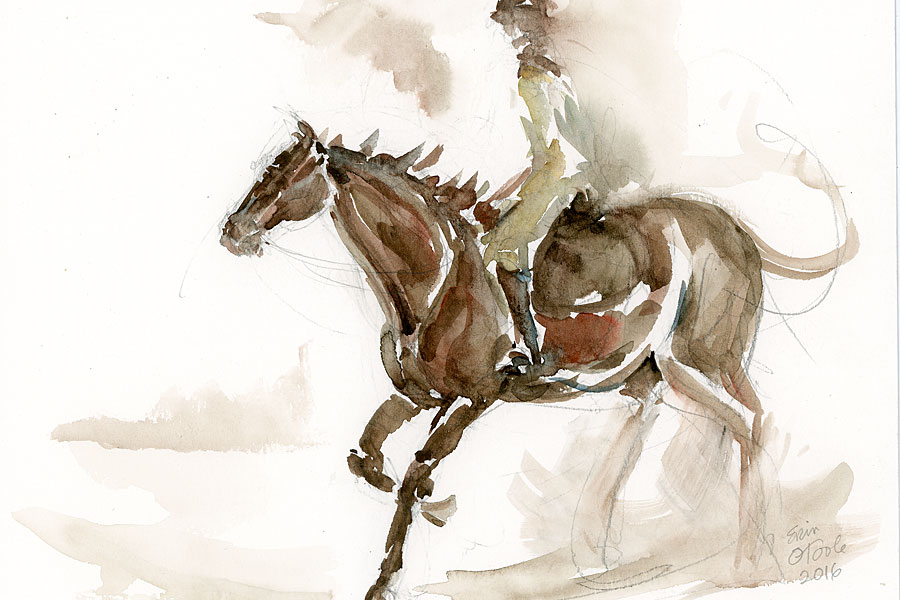Show of horse drawings and Paintings
