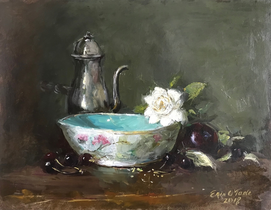 Still life painting by Erin OToole